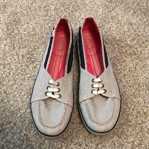 Keds Striped Slip On Shoes